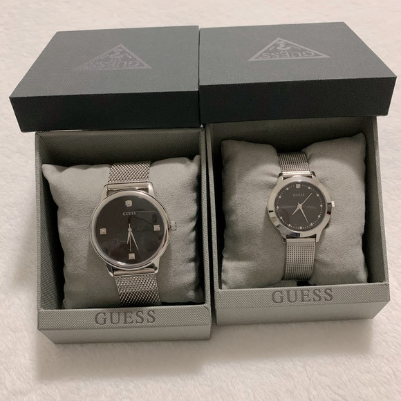 Guess ladies and mens watches
